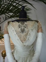 7 antique evening dress