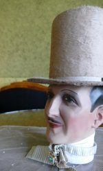 8 antique top Hat 1845