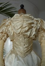15 antique ball gown 1892