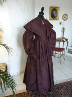 23 antique romantic period gown 1837