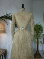 38 antique reception gown 1901