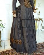 14 antique bustle gown