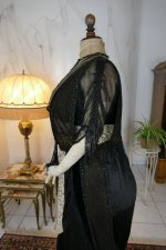 22 antique dinner dress Hamburg 1906