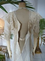 99 antique wedding gown