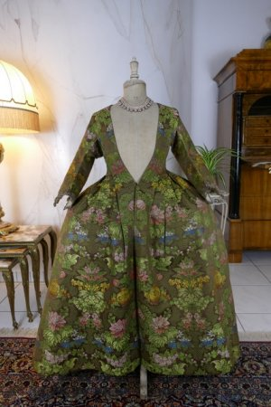 antique childs court dress 1760
