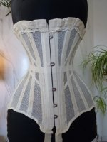 1 antique summer corset 1890
