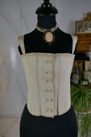 antique teenager corset 1905