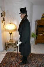 14 antique mens coat Herman Hoffmann 1925