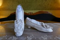 12 antique chevreau leather shoes