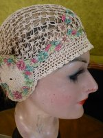 11 antique boudoir cap