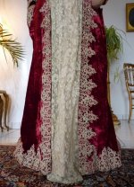5 antique dress gown