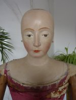 5 antique mannequin 1800
