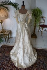 30 antikes ball kleid 1890