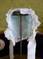 8 antique baby bonnet 1910