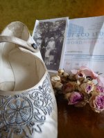 32 antique wedding shoes