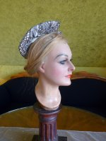 12 antique victorian bonnet 1895