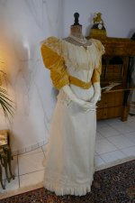 13 antique evening dress 1895