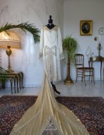 55 antique gown 1920