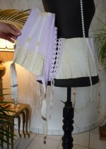 19 antique underbust korsett