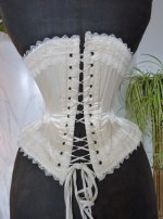 18 antique wedding corset 1880