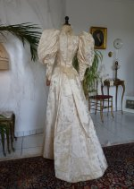50 antique bridal gown 1895