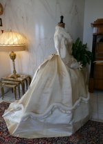 32 antique wedding dress 1876