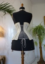 17 antique summer corset 1890