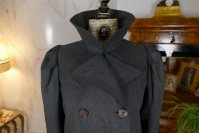 1 antique travel coat 1908
