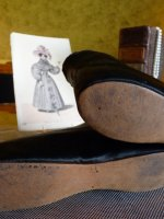 21 antique romantic period boots 1930