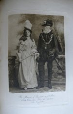 109 antique Devonshire costume 1897