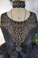 5 antique robe de style 1924