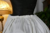 10 antique Biedermeier Petticoat 1840