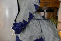 12 antique bustle dress 1884