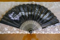 2 antique fan 1908