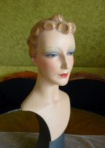 1 antique shop display mannequin 1930