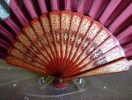7 antique folding fan 1905