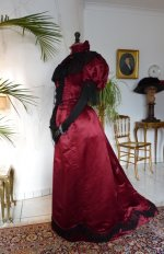 17 antique reception gown