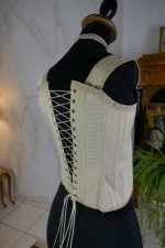 10 antique teenager corset 1905
