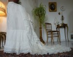 1 antique underskirt 1880