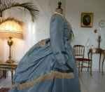 10 antique reception gown 1865