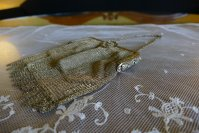 3 antique metal mesh purse 1915