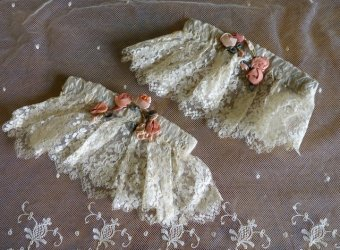 antique wedding garter