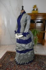 10 antique bustle dress 1884