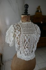 2 antique lace blouse 1916