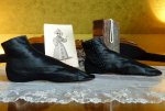 8 antique romantic period boots 1930