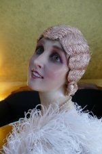 27 antique hair cloche 1920