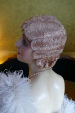 26 antique hair cloche 1920