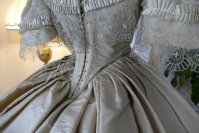 31 antique ball gown 1859