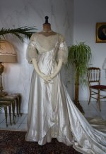 2 antique edwardian wedding dress 1909