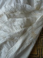 34 antique underskirt 1880